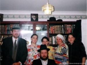 Visita de um membro ao Rabino Leão Zacarias | 2013
