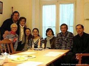 Visita da Rabina Alona Lisitsa e da Presidente da Comunidade Judia das Astúrias, Aida Oceransky | 2014