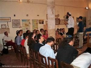 Visita à Sinagoga de Tomar