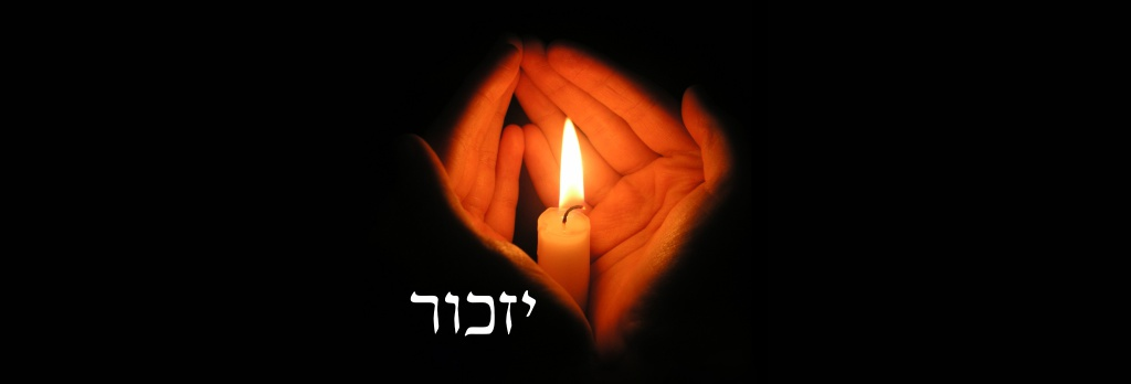 yom hashoah - יום השואה Yom HaShoah - Dia da Memória do Holocausto