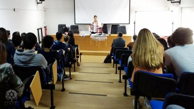 Ana Scherer falando sobre Judaísmo
