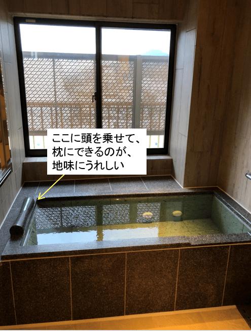 あさやホテル_部屋付き風呂