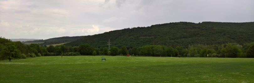 Die Range im Golfclub Hildesheim