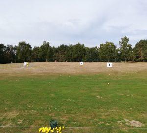 Die Driving Range im Golfclub Tietlingen