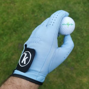 Keel Golfhandschuhe in blau