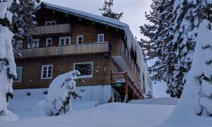 Lodge in Winter