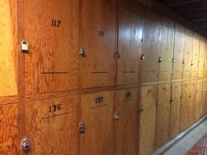 Lockers in the Basement