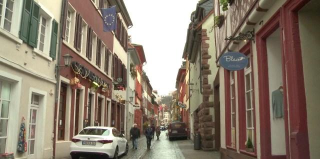 Die Heidelberger Altstadt macht dicht