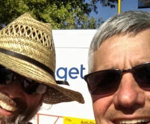 Eric Heiden and Alexi Grewal