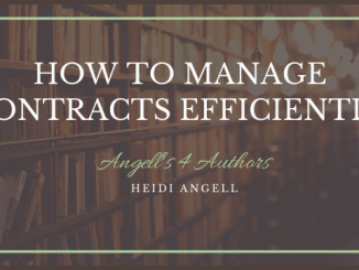 How to Manage Contracts Efficiently