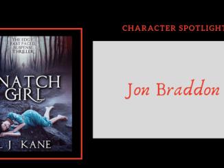 Meet Jon Braddon of thriller/ horror Snatch Girl