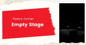 Poetry Corner- Empty Stage