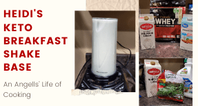 Heidi's Keto Breakfast Shake Base