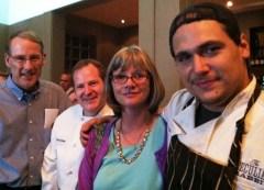 from left - Byron Jordon, Tom Dyrness, Nancy Jordon and Brent Martin