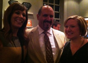 Competition Dining Creator Jimmy Crippen, center, with WBTV's Kristen Mirando and Kelly Franson