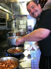Semi finalist Chef Luca Annunizata