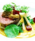 Course three from Chef Luca Annunziata