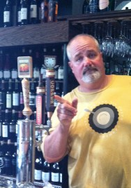 Chef Ref Lawrence Willard sets the Copper on tap at the Bonterra Bar