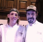 Paul Verica and his son Alex from Heritage Food and Drink