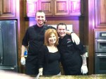 Heidi Billotto with Cantina 1511's Vince Giancarlo and Greg Balch