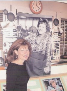 Heidi Billotto 2003 at The Julia Child Kitchen exhibit at the Smithsonian Institute in Washington DC