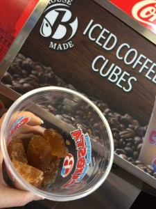 "At Brooklyn Water Bagel, Coffee Ice Cubes make a regular Iced Coffee a ""Cubsta"""