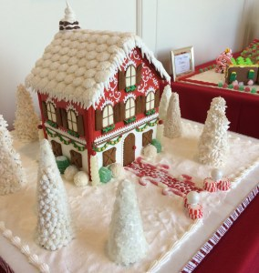 Be Sure to visit Gingerbread Lane at Ballantyne Hotel & Lodge before the holiday season is over