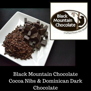 Black Mountain Chocolate Cocoa Nibs & Dominican Dark Chocolate