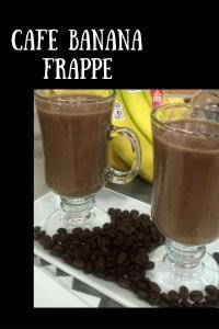 Cafe Banana Frappe
