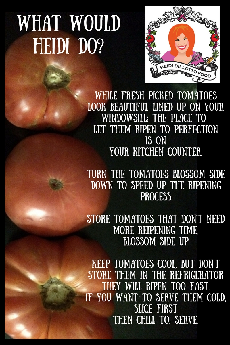 homegrown tomato tips
