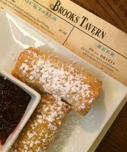 fried cheesecake at Brooks Tavern