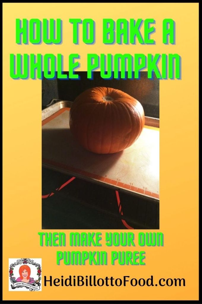 pumpkin in the oven