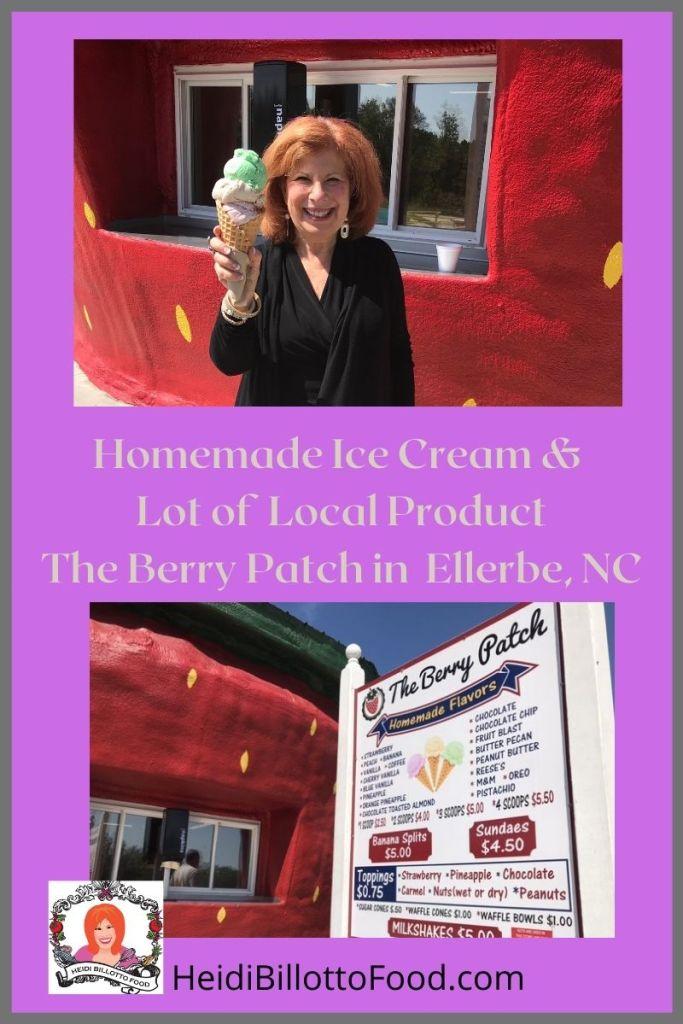 heidi with ice cream