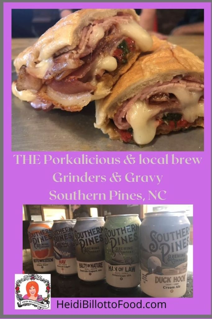 pork and cheese sandwichg