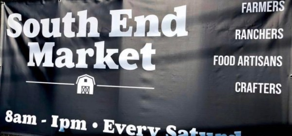 southend market sign