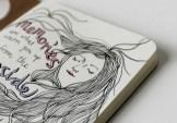 Illustrated journal inspired by Haruki Murakami
