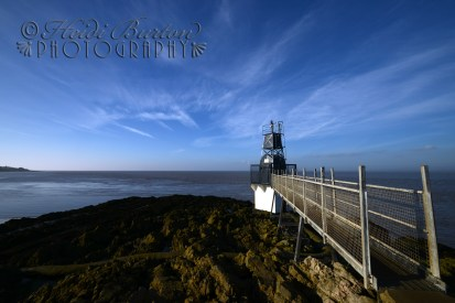 Today I went to Portishead (the place on the Bristol Channel and NOT the band!) This is the Lightouse by the Lido on a stunningly sunny January day.