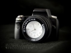 7th June 2013 - My ickle camera clock - a pressie from my mum a while back - so sweet!