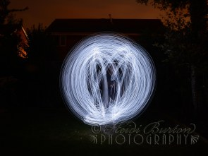 23 July 2013 - playing around with a string of fairy lights - need to play more!