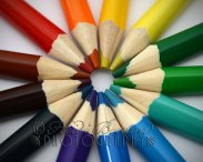21st September 2013 - I was a bit bored so thought I'd play with these pencils - loving the rainbow of colours! Copyright Heidi Burton ABIPP. No use without the prior consent of the photographer.