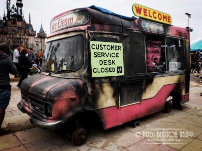 Customer care van