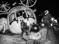 the Princess coach crash, Banksy, Dismaland
