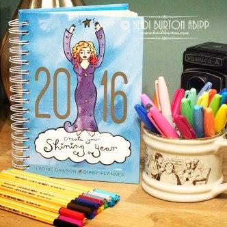 #02 366 for 2016 - Leonie Dawsons 2016 Diary