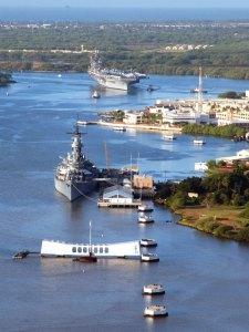 USS Missouri in Pearl Harbor