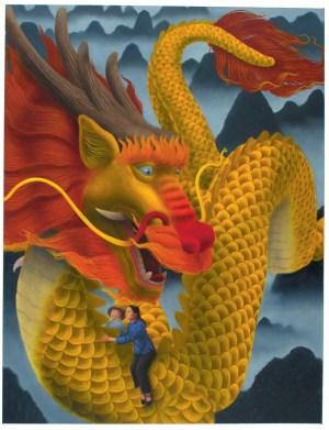 Kam Mak illustration for The Dragon Prince.