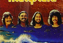 1970's Kalapana album cover - L to R: Mackey Feary, Malani Bilyeu, D.J. Pratt and Kirk Thompson