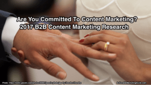2017 B2B Content Marketing Research