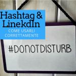Hashtag su LinkedIn
