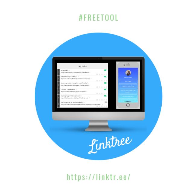 digital tool: Linktree