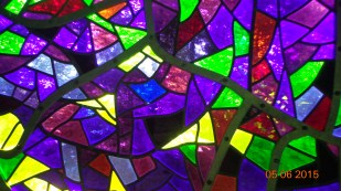 Matise inspired, stain glass windows